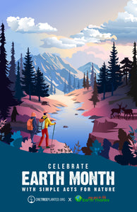 Earth Month Free Poster