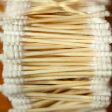 Load image into Gallery viewer, Natural Biodegradable Bamboo and Cotton Ear Swabs