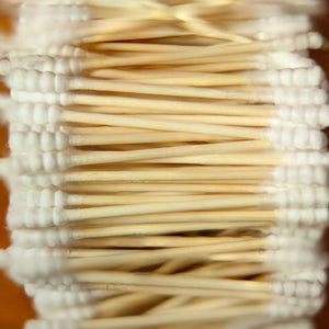 Natural Biodegradable Bamboo and Cotton Ear Swabs
