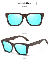 Load image into Gallery viewer, Natural Bamboo Wooden Sunglasses