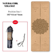 Load image into Gallery viewer, Natural Cork Yoga Mat or Block