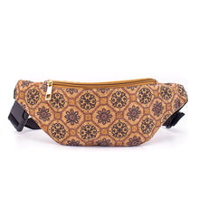 Load image into Gallery viewer, Natural Cork Travel Belt Pouch Bag