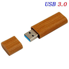Load image into Gallery viewer, High Speed USB 3.0 Wooden Bamboo USB Flash Drive