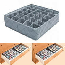 Load image into Gallery viewer, Bamboo Charcoal 30 Cells Storage Box
