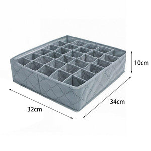 Bamboo Charcoal 30 Cells Storage Box