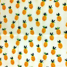 Load image into Gallery viewer, Reusable Beeswax Food Wrap Pineapple / L 33x35cm / White Home & Kitchen - earth-thanks.myshopify.com