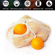 Load image into Gallery viewer, Reusable Organic Cotton Mesh Bags [variant_title] Home & Kitchen - earth-thanks.myshopify.com