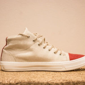 Natural Hemp Sneakers Shoes
