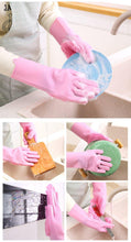 Load image into Gallery viewer, Silicone Magic Kitchen Cleaning Gloves