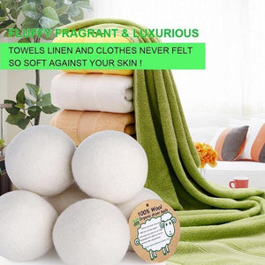 Organic Wool Laundry Dryer Balls