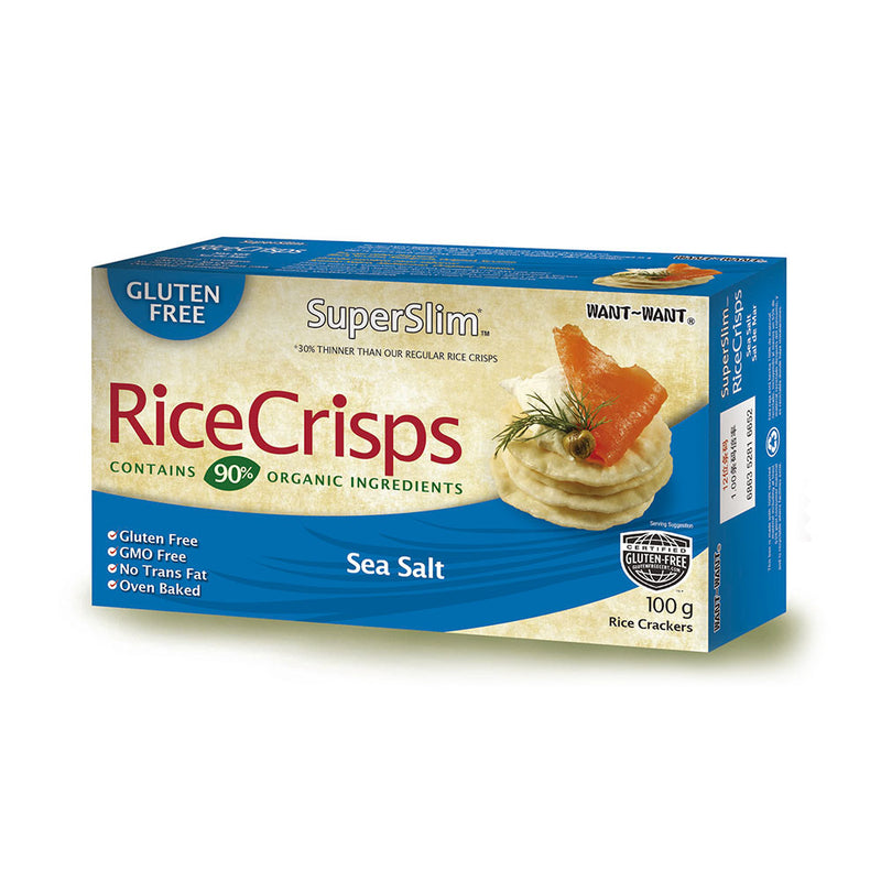 Galletas Rice Crisps Sal de mar