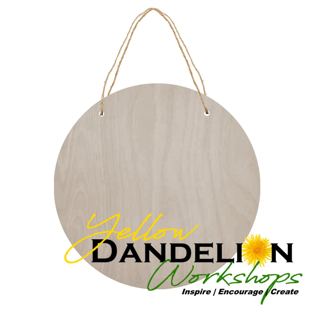Wholesale Door Hanger | Round