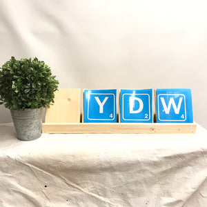 Wood Project | Tiles & Tray