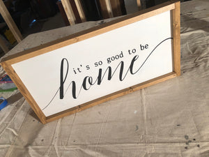 Custom Wood Sign | Standard