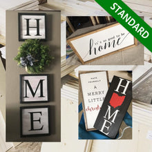 Load image into Gallery viewer, Custom Wood Sign | Standard