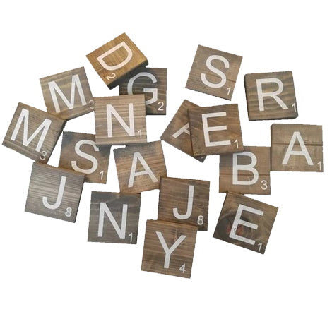 Wood Project | Scrabble Tiles