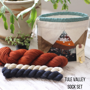 High Desert Sock Kit • Tule Valley