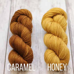 Dyed to Order Tonals • Amaranth Base • 100% Non-Superwash Merino • Fingering Weight
