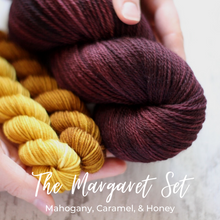 Load image into Gallery viewer, The Margaret Set • Calico Socks • Dyed to Order