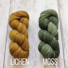 Load image into Gallery viewer, Dyed to Order Tonals • Soybean Base • 100% Non-Superwash Merino •   DK Weight