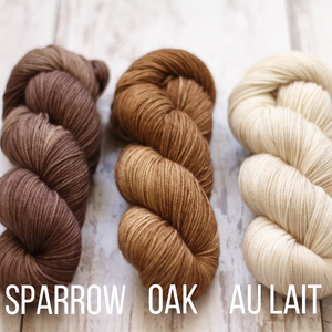 Dyed to Order Tonals • Soybean Base • 100% Non-Superwash Merino •   DK Weight