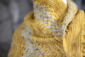 Dyed to Order • Zabadoo Shawl Kit • Gorse & Solstice