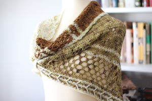 Dyed to Order • Hotel of Bees Shawl Kit