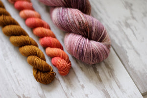 High Desert Sock Yarn + Pattern Add On • Choose Your Color