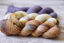 Load image into Gallery viewer, Dyed to Order • Taroko Sweater Kit • White Way of Delight, Nectar, & Lilac