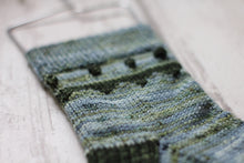 Load image into Gallery viewer, Dyed to Order • A Frame Sock Set • Juniper + Moss