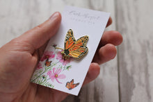Load image into Gallery viewer, Monarch Butterfly Enamel Pin