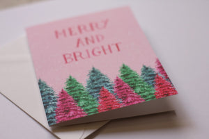 Merry & Bright Greeting Card