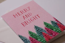 Load image into Gallery viewer, Merry & Bright Greeting Card