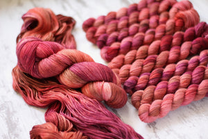 Dyed to Order • Currant Jelly • Little Women Collection
