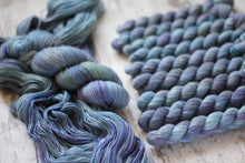 "Load image into Gallery viewer, Dyed to Order Kit • ""knit with all her might"""