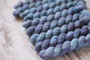 "Dyed to Order Kit • ""knit with all her might"""
