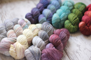Dyed to Order • Entire Little Women Collection • Full Skeins