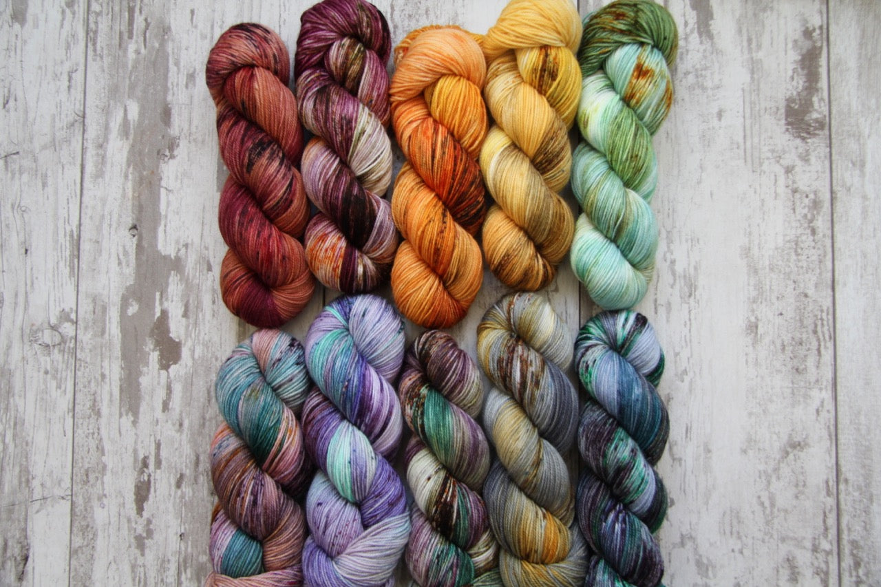 Dyed to Order • Entire Harry Potter Collection • Full Skeins