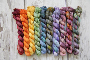 Dyed to Order • Entire Harry Potter Collection Mini Skeins