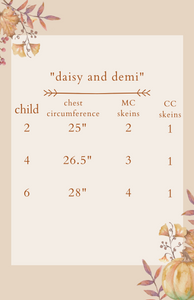 "Dyed to Order Kit • ""daisy and demi"""