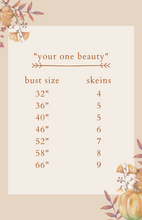 "Load image into Gallery viewer, Dyed to Order Kit • ""your one beauty"""