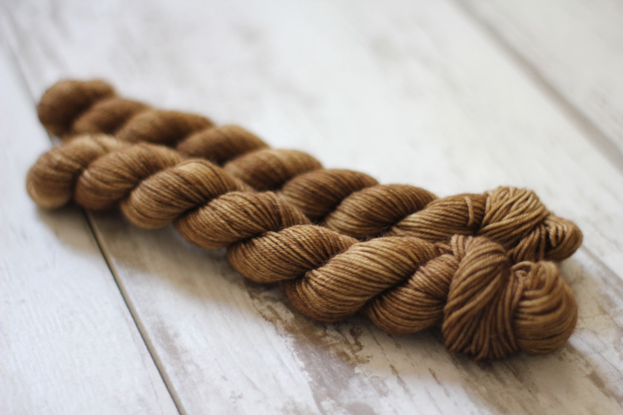 Oak Mini Skein • Milo Base • Ready to Ship