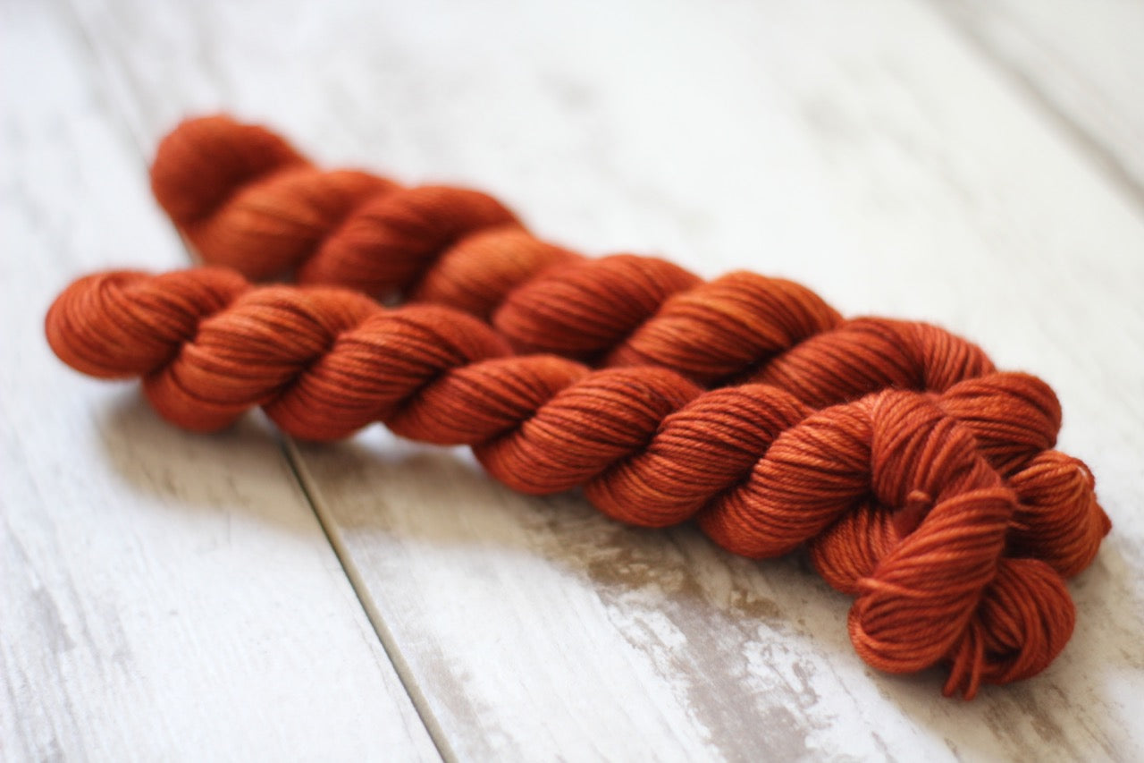 Rust Mini Skein • Milo Base • Ready to Ship