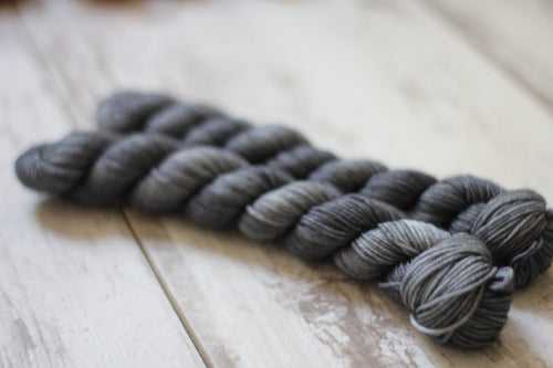 Steel Mini Skein • Milo Base • Ready to Ship