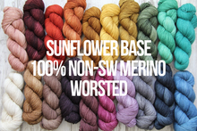 Load image into Gallery viewer, Dyed to Order Tonals • Sunflower Base • 100% Non-Superwash Merino • Worsted Weight