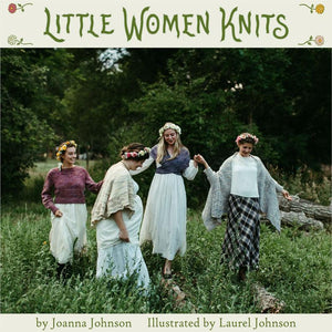 Pre-Order Ships Feb 14 • Little Women Knits Book & Entire Little Women Collection Mini Skeins