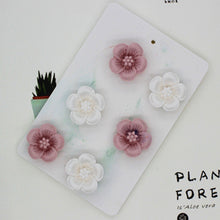 Load image into Gallery viewer, 6 Holes Mini Flower Aroma Gypsum Decorative Wax Silicone Mold DIY Expanded Incense Stone