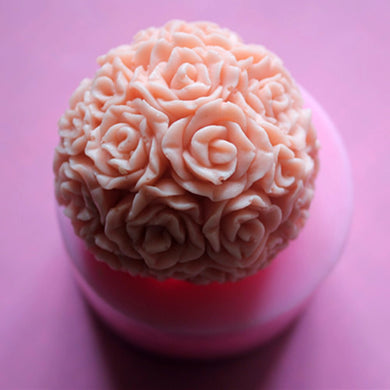 Rose Love Soap Mold / Handmade Soap Mold / Silicone Mold / Soap Mold Candle Mold-2