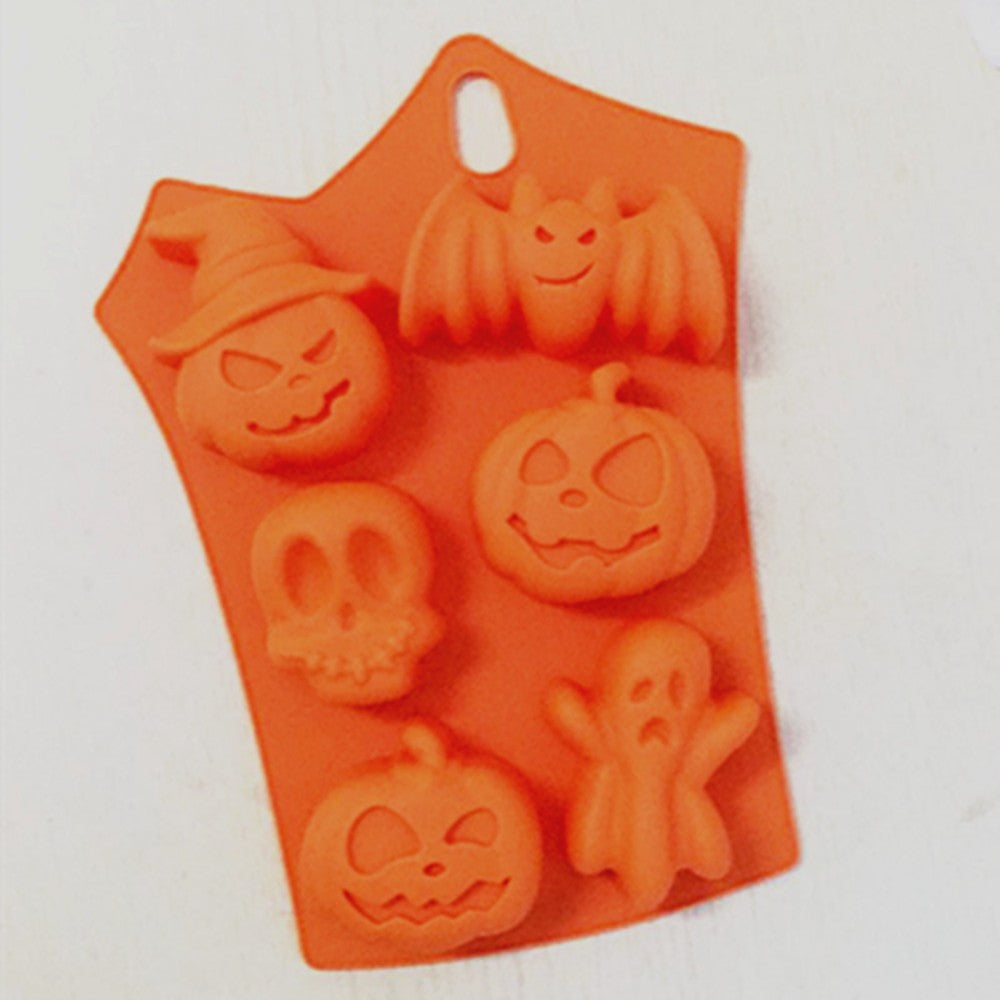 Halloween Pumpkin/ Skull Ghost Mechanism Soap Mold/ Mechanism Cake Mold/ Chocolate Mold