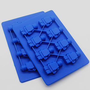Mini Robot Chocolate Mould DIY/ Silicone Soap Mould/ Jelly Pudding Chocolate Mould
